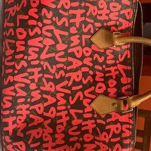 Louis Vuitton Monogram Graffiti Speedy